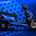 Honeycomb Deep Blue - Theme