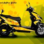 Honeycomb Saffron Yellow - Theme